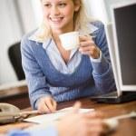 Successful lady — Stock Photo