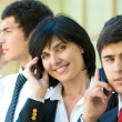 Stock Photo: Business agents