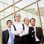 Purposeful associates — Stock Photo #11123767