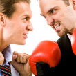 Angry men — Stock Photo #11125029