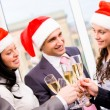 Christmas cheers — Stockfoto