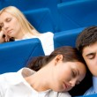 Sleep during conference — Stock Photo #11125515