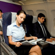 In airplane — Stock Photo #11125670