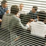 discussão no escritório — Foto Stock