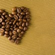 Coffee heart — Foto Stock