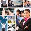 Business collage — Stock Photo #11126496