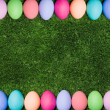Easter framing - Stock Photo