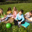 Stock Photo: Children outdoors