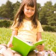 Reading girl — Stock Photo #11127138