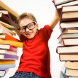 Gifted reader - Stock Photo
