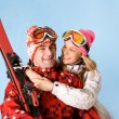Sporty couple — Stock Photo #11127785