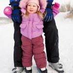 Little skier — Stock Photo #11127885