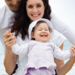 Cheerful family — Stock Photo #11128051