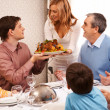 Royalty-Free Stock Photo: Family dinner