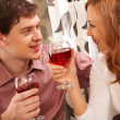 Couple toasting - Stock Photo