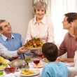Thanksgiving dinner — Stock Photo #11128224