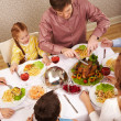 Family eating — Stock Photo #11128232