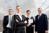 Young leader — Stock Photo