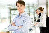 Уверенный менеджер — Стоковое фото