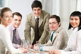 Friendly team — Stock Photo