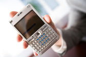 Touch screen phone — Stock Photo