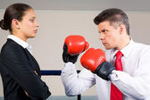 Unequal fight — Stock Photo