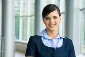 Успешная женщина — Стоковое фото