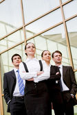 Purposeful associates — Stock Photo
