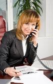 Smart sekreterare — Stockfoto