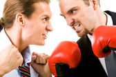 Angry men — Stock Photo