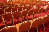 Chairs in hall — Stockfoto