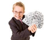 Wohlhabende junge — Stockfoto