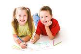 Desenho de crianças — Foto Stock