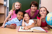 In the classroom — Stock Photo