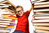 Gifted reader — Stock Photo