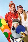 Snowboarders — Stockfoto
