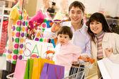 Szczęśliwy zakupów — Zdjęcie stockowe