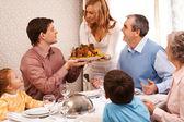 Family dinner — Stock Photo