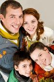 Retrato de familia — Foto de Stock