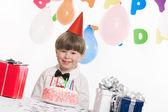 Празднование дня рождения — Стоковое фото