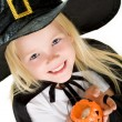 Halloween girl — Stock Photo #11147278