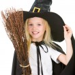 Royalty-Free Stock Photo: Little witch
