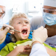 Stock Photo: Inspection of oral cavity