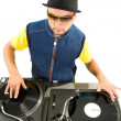 Stock Photo: Vynil disc player