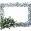 Royalty-Free Stock Photo: Christmas frame