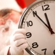 Stock Photo: Five minutes to Christmas