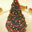 Christmas firtree in the mall — Stock Photo