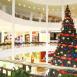 Firtree in the shopping center — Stock Photo