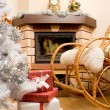 Home expecting Christmas — Foto Stock