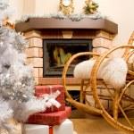 Home expecting Christmas — Stock Photo